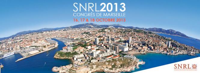 Congrès de Marseille - SNRL 2013 : Le programme officiel