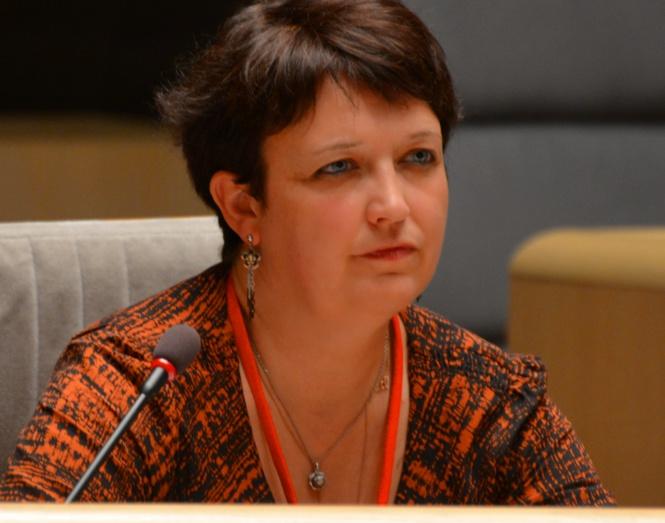 Michelle Lestelle, Vice-présidente du SNRL et membre de la Commission du FSER