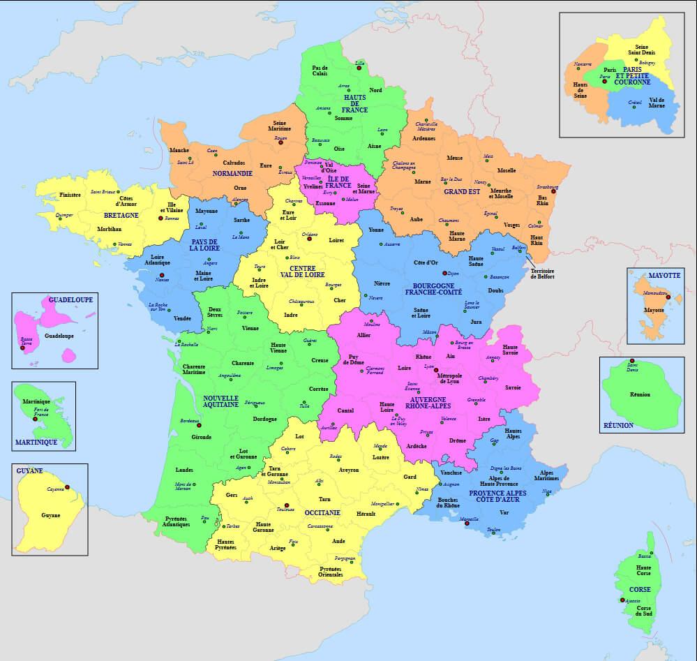 Les Délégués Régionaux