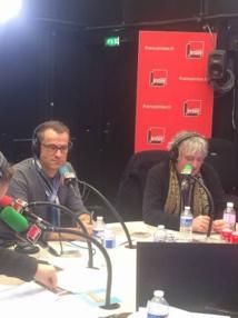 Sylvain Delfau, Secrétaire Général du SNRL et Jean-Yves Lafesse