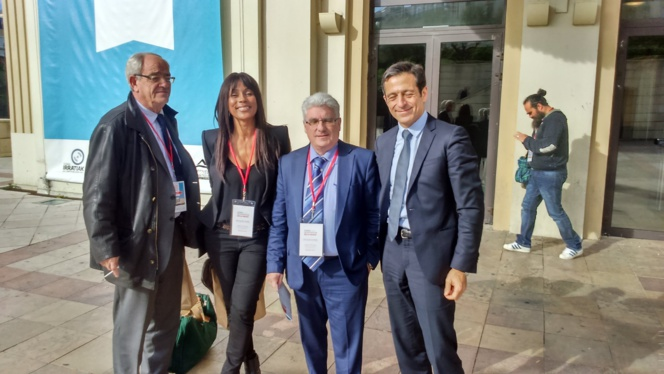 Patrice Gélinet, Christine Kelly, Emmanuel Boutterin et Martin Ajdari