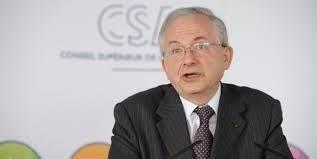 Olivier Schrameck, Président du Conseil Supérieur de l'Audiovisuel