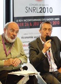 Ludovic Tellier (a droite) Délégué national aux partenariats et à la communication