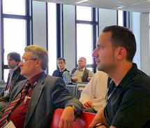 Emmanuel Boutterin, Président du syndicat et Loic Chusseau, Délégué national aux financements publics