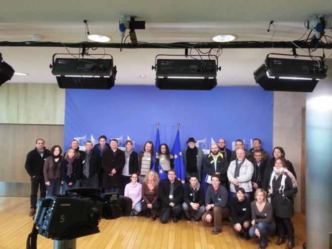 1er séminaire de formation européen à Bruxelles orgnisé par le SNRL en décembre 2012