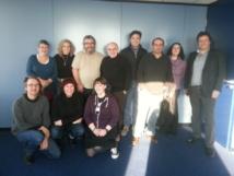11 nationalités européennes représentatives de la radiodiffusion associative dans chacun de leur pays réunies à Paris les 15 et 16 janvier 2013
