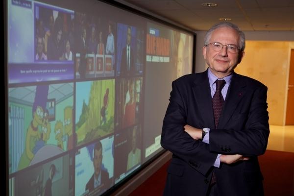 Olivier Schrameck, Président du Conseil Supérieur de l'Audiovisuel. © Manuelle Toussaint