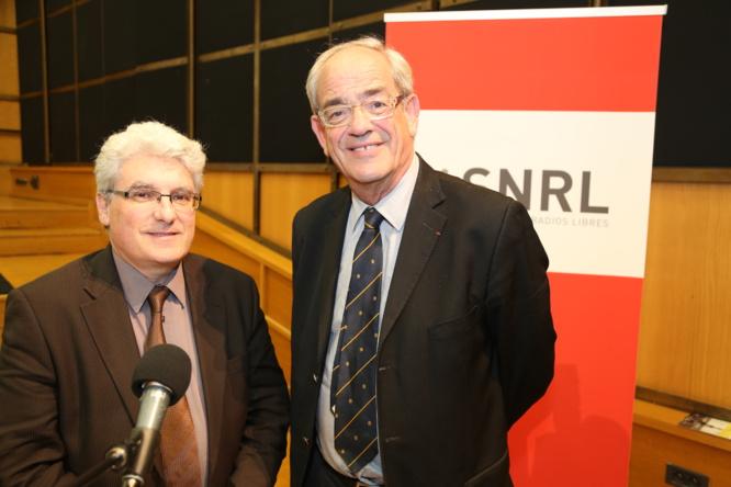 Emmanuel Boutterin et Patrice Gélinet lors du 10ème Congrès du SNRL - Tous droits réservés © Serge Surpin