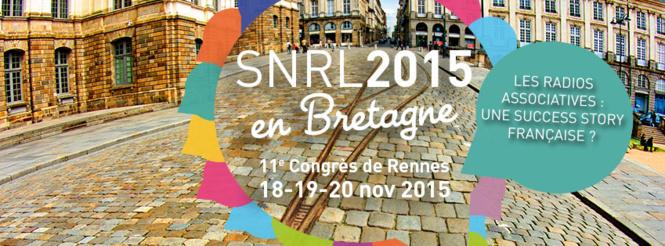 SNRL2015 - Congrès de Rennes : du 18 au 20 novembre 2015 !