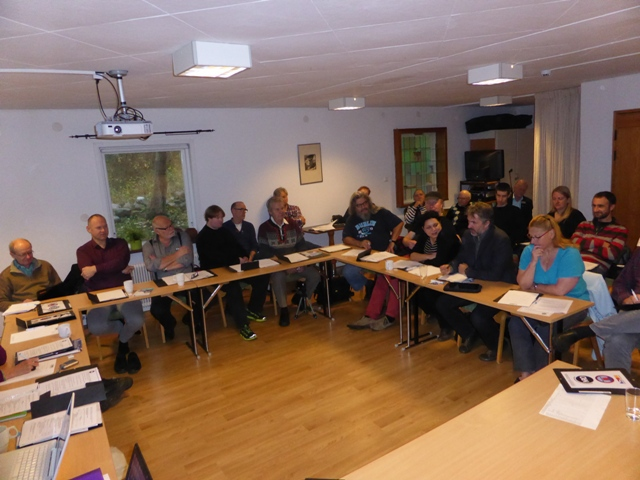 Helsingborg: travail en plénière