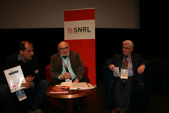 Agus Hernan, Eric Lucas et Emmanuel Boutterin