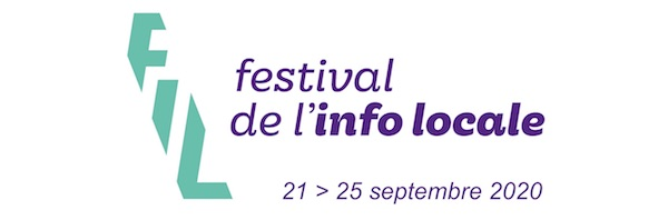 Festival de l'info locale 2020 : une édition en ligne pendant 5 jours du lundi 21 au vendredi 25 septembre