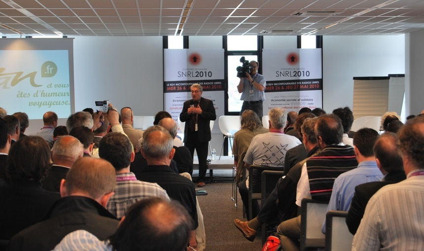 Ouverture du Congrès de Nantes par Emmanuel Boutterin, Président du SNRL