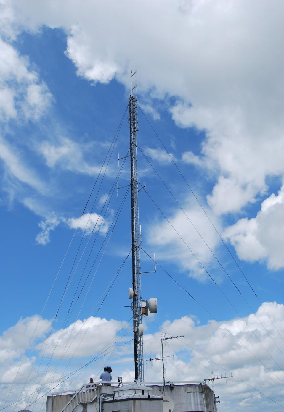 Site de diffusion FM / RNT mutualisé des radios associatives nantaises (GRAM) depuis 2010