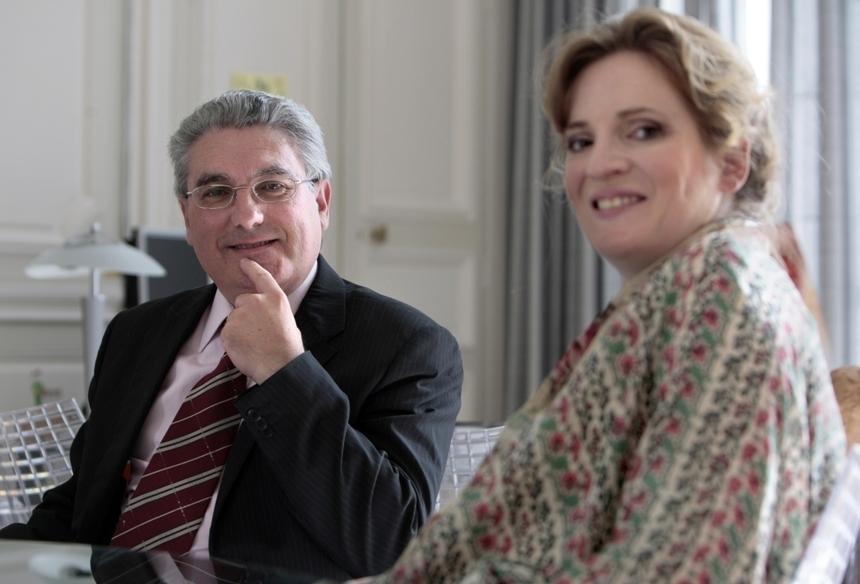 Emmanuel Boutterin et Nathalie Kosciusko Morizet, Secrétaire d'Etat à l'économie numérique
