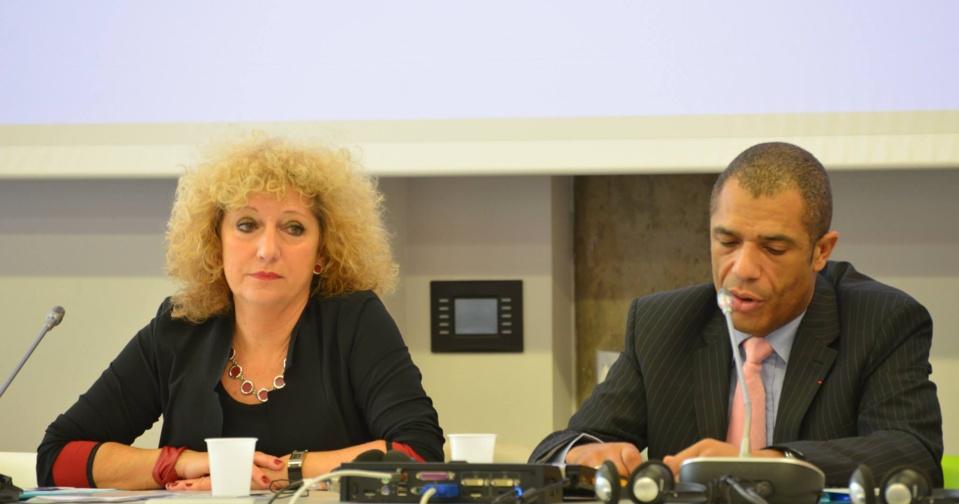 Bernadette Vergnaud, Députée européenne ; Emmanuel Gabla, membre du CSA
