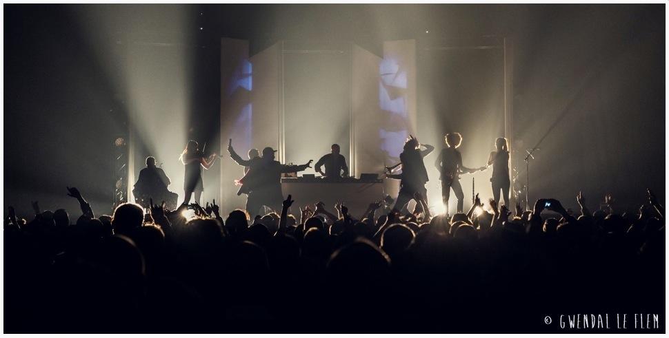 Wax Taylor en live - Crédits photo : Gwendal Le Flen
