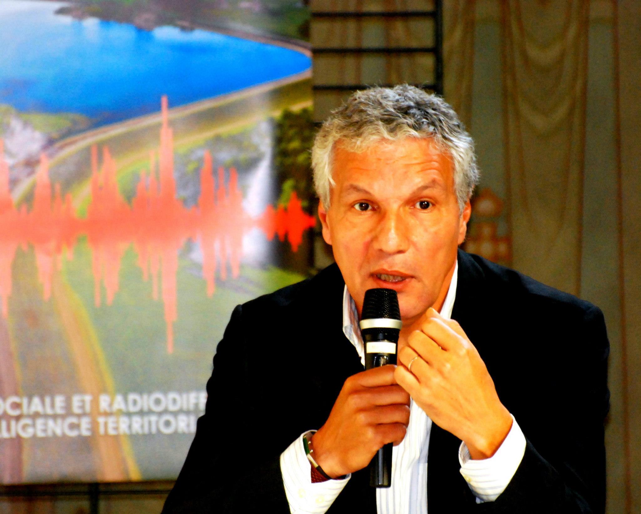 Rachid Arhab lors de la séance d'ouverture du Congrès de Reims - SNRL 2012 ©Karinaphotos