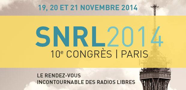 Congrès de Paris - SNRL 2014 : informations pratiques
