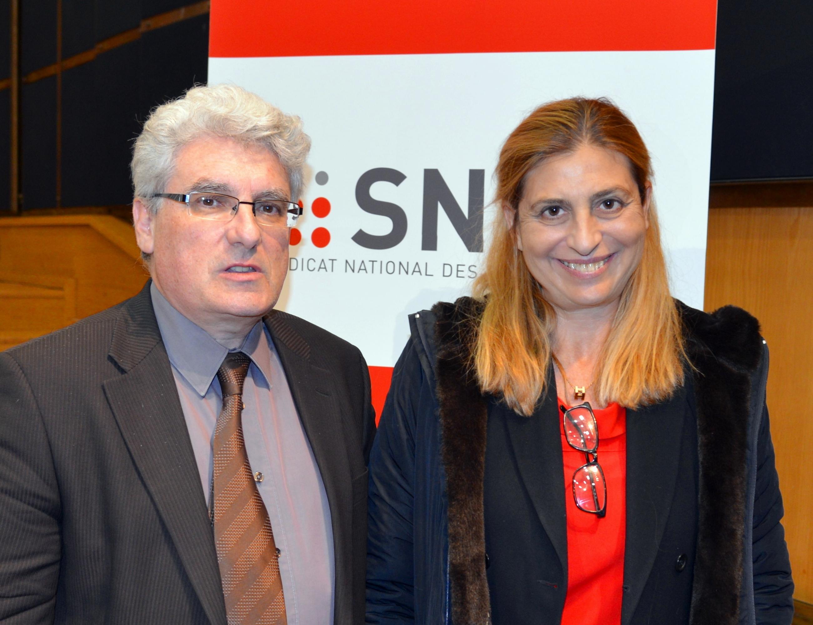 E. Boutterin et L. Franceschini (DGMIC)