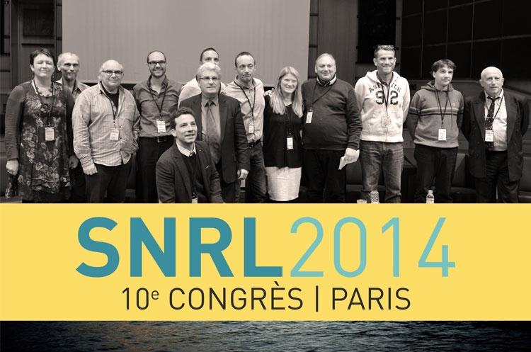 Le Bureau National du SNRL (presque) au complet