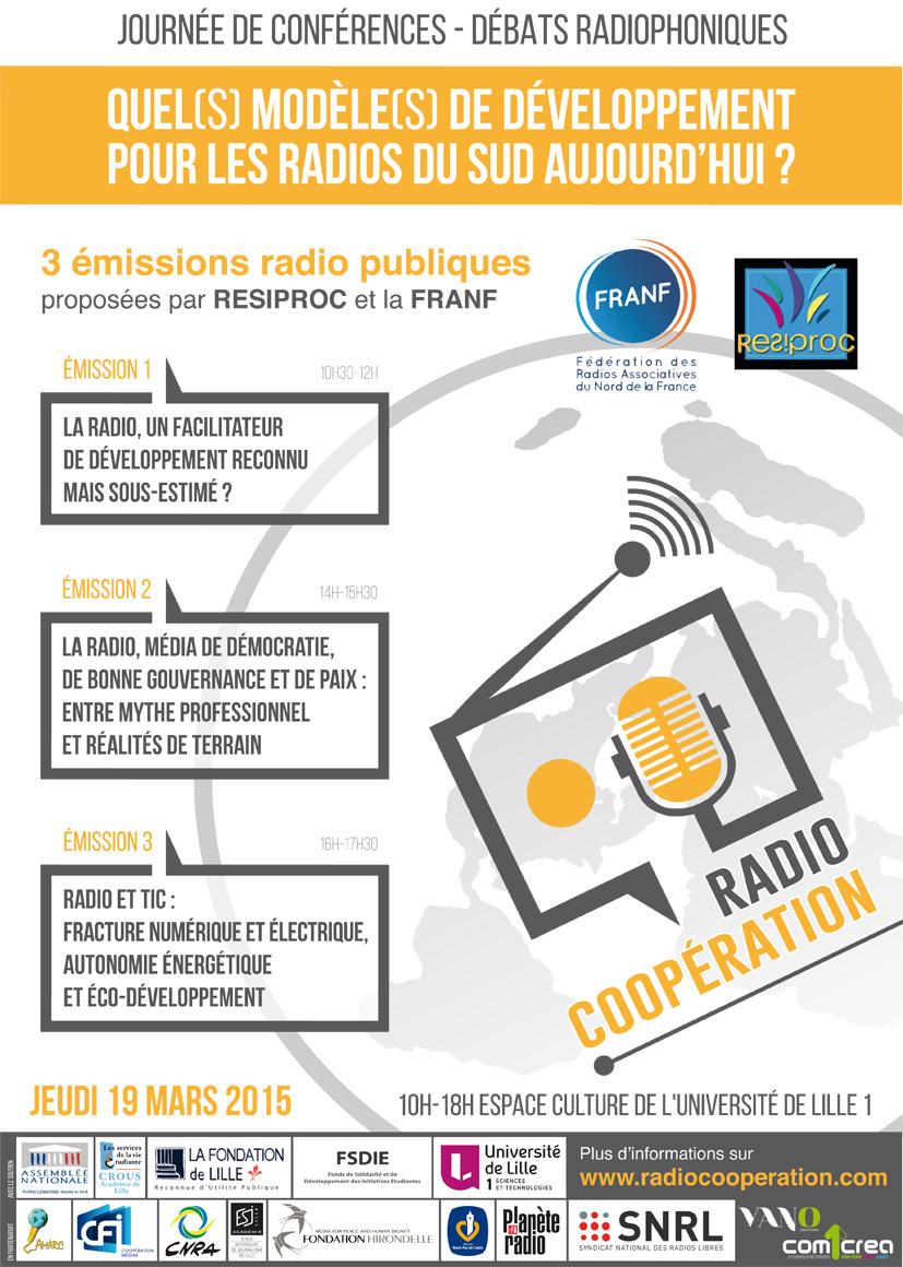 Quel(s) modèle(s) de développement pour les radios du Sud aujourd'hui ?