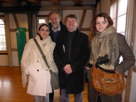 Membres du groupe français à Winterthur