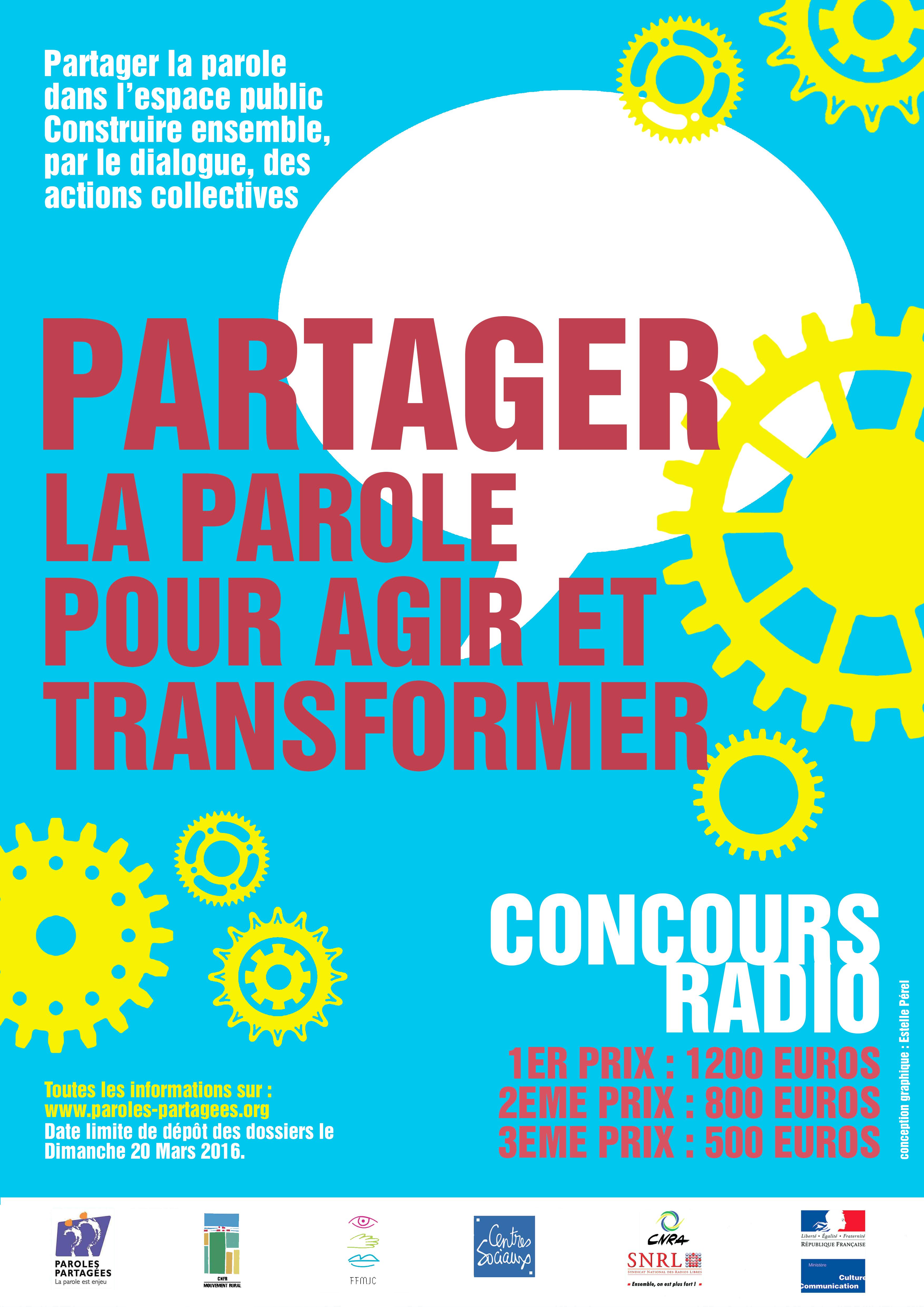 [Date limite de dépôt des dossiers repoussée] Concours radio du collectif Paroles Partagées