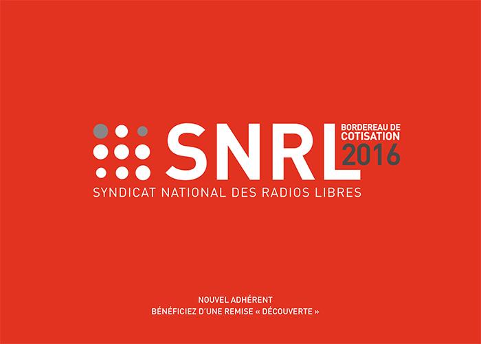 """Adhésion des radios au SNRL : le """"pack service 2016"""" est arrivé"""