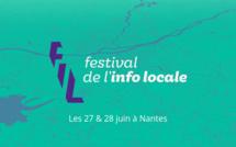 Les 27 & 28 juin prochains, tous les acteurs de l'info locale ont rendez-vous à Nantes pour la première édition du FIL, le Festival de l'info locale